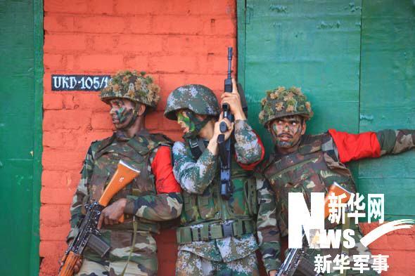 中国軍とインド軍による共同演習 中印両軍の反テロ演習が総合演習の段階に_China.org.cn
