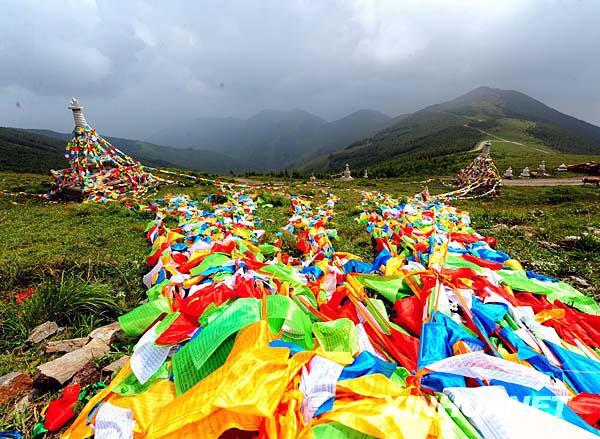 世界遺産の五台山で開催される仏...