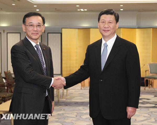 習近平国家副主席は15日、自民党の谷垣禎一総裁と会見した。 「チャイナ...  習近平副主席 自