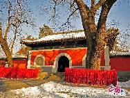明代の万暦5年(1577年)に建立された万寿寺は、明、清代の皇室の専用寺院で、康煕、乾隆、光緒年間に何度も大規模な改築が行われた。寺院、行宮、庭園が一体化した建築群として、北京西部の「小故宮」とも呼ばれている。「チャイナネット」2010年1月18日