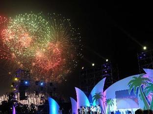 「博鰲の夜」が海南省博鰲で開催