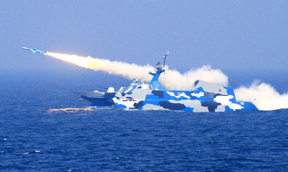 解放軍の東海での演習が完了 大...