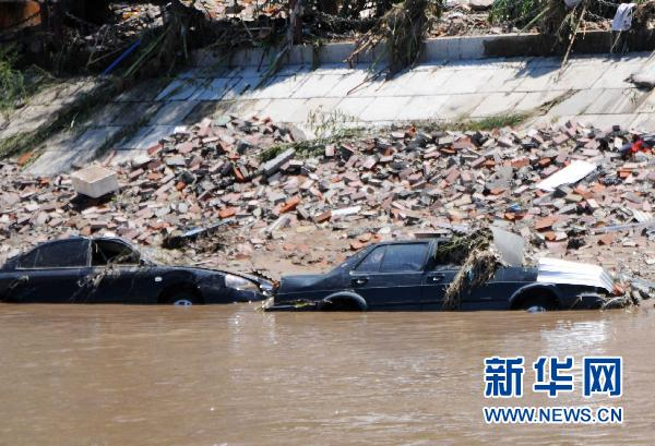 吉林省永吉の洪水で15万人が被災...