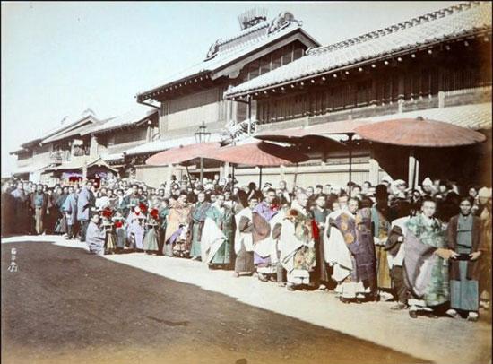 着色写真:1866年の日本(17枚)_中...
