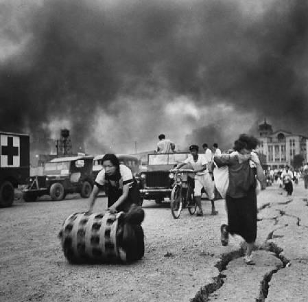 米国が撮影した1948年の日本の福...