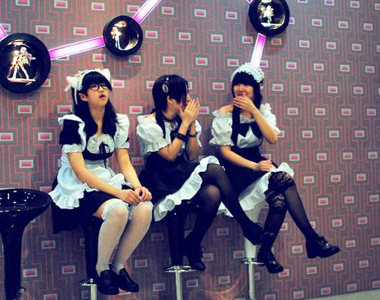 """长沙仿效日本开餐厅 学生兼职做""""女仆服务员"""""""