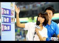 上海市の東方体育中心で開催中(7月16―31日)の2011年世界水泳選手権に、日本人の美人キャスターが登場し、観衆たちの目を奪っている。「鳳凰網スポーツコラム」が伝えた。 「中国網日本語版(チャイナネット)」 2011年7月25日