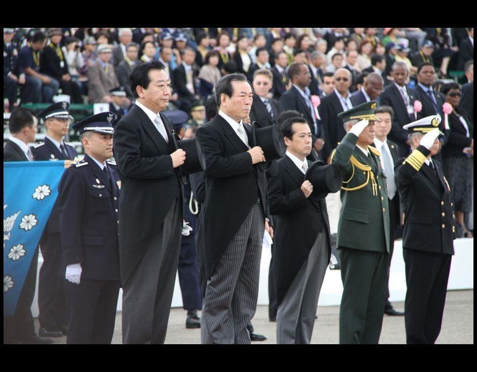 航空観閲式 自衛隊の主力戦闘機・ミサイルが登場_japanese.china.org.cn
