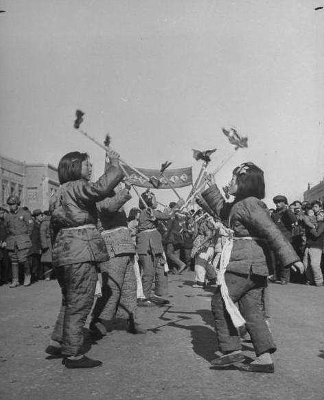 米国人カメラマンが撮影した1946年の中国の春節_中国網_日本語