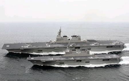 中国人専門家:日本の中型空母建...