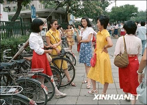1980年代中国のとってもおしゃれ...