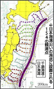 日本が世界最大規模の海底地震観...