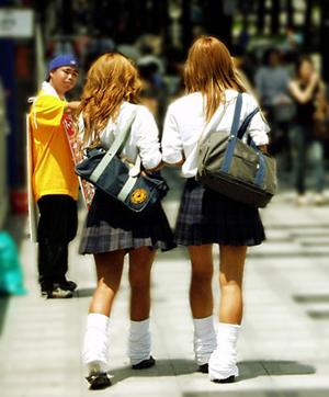 日本のヘンな若者ファッション集...