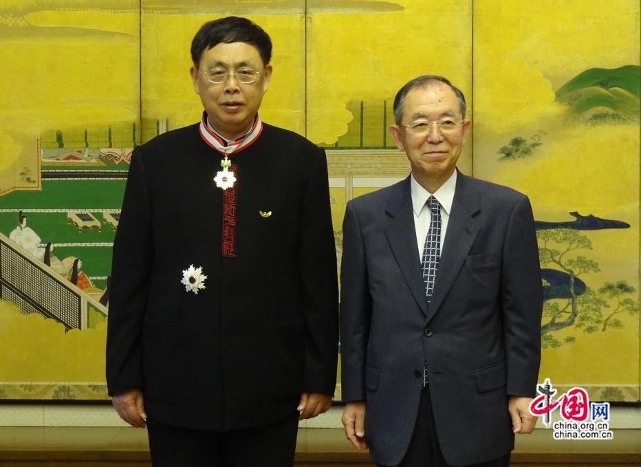 陳昊蘇・前中国人民対外友好協会...