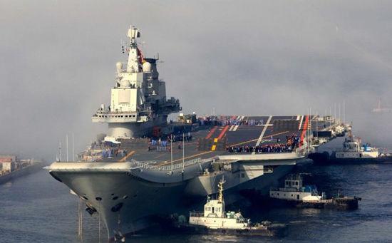 中国初の空母「ワリャーグ」 インドと中国が空母を中心とする「深海艦隊」...  日本メディアが見