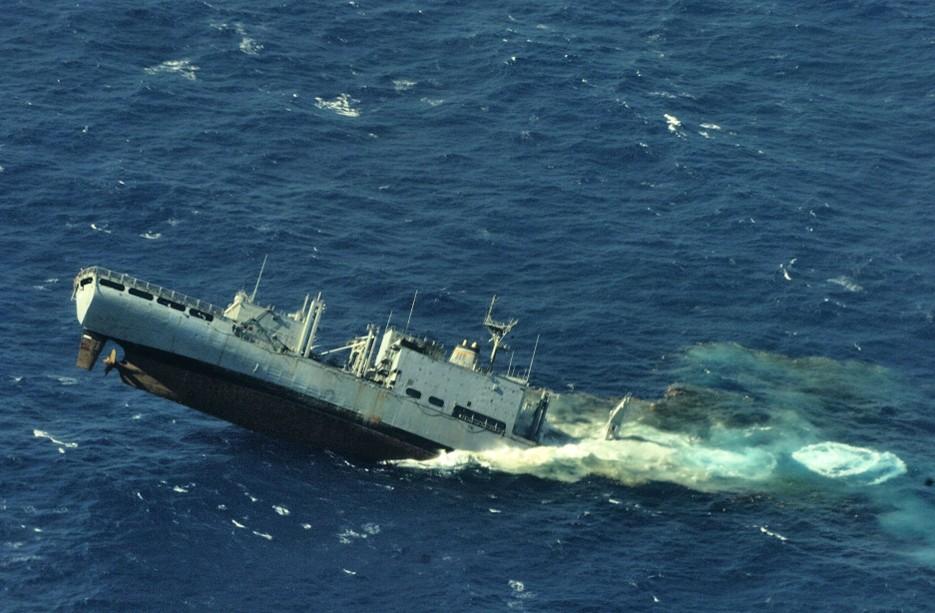 環太平洋軍事演習 潜水艦がター...