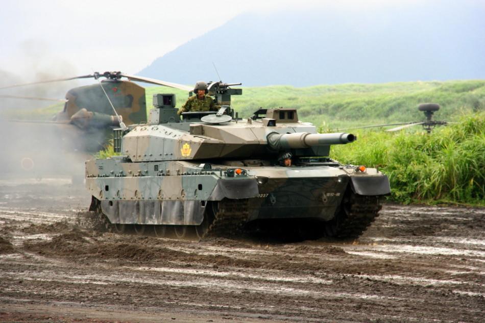 日本陸自の主力装備 10式新型戦車コメント