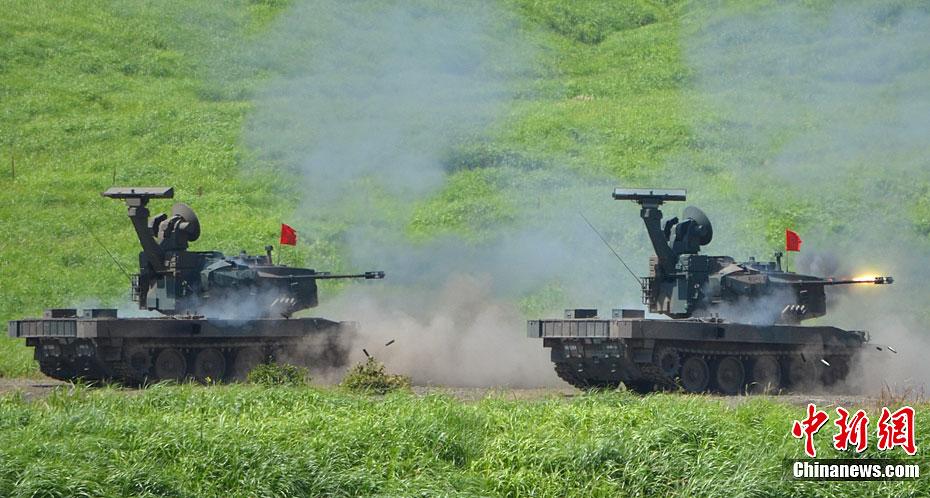 日本自衛隊 2012富士総合火力演習を開始コメント