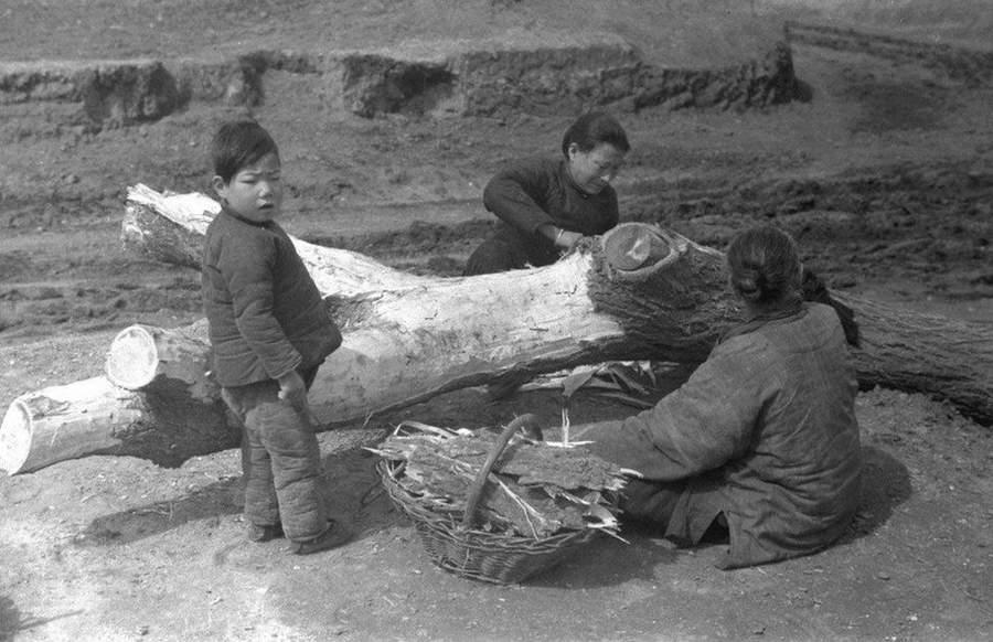 1942年、飢餓の中国外国カメラマ...