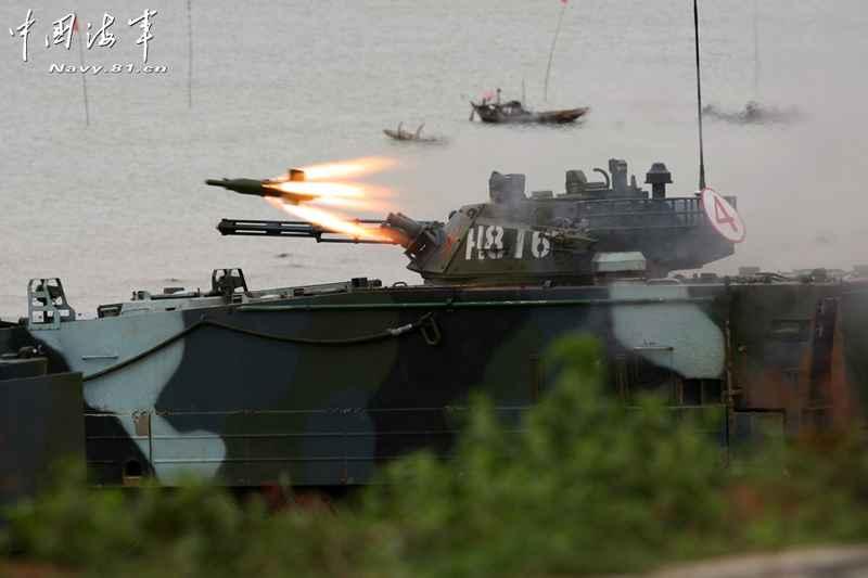 中国海兵隊、水陸両用戦車で訓練実施コメントコメント数:0最新コメント一覧同コラムの最新記事コラム一覧