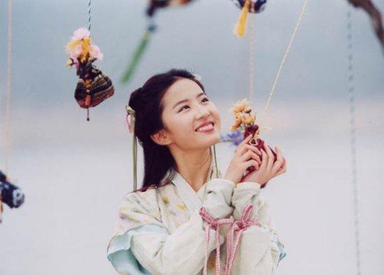 中国の時代劇の中の美人女優たち