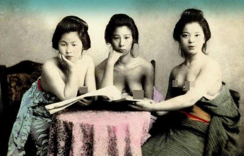 昔の写真 西洋人の目に映る日本の芸者_中国網_日本語