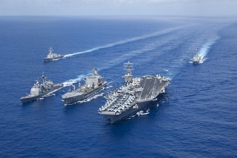 米海軍のニミッツ級空母打撃群_中国網_日本語