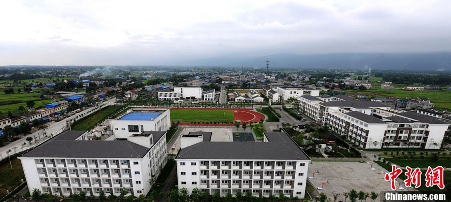 四川大地震から5年:美しさを取...