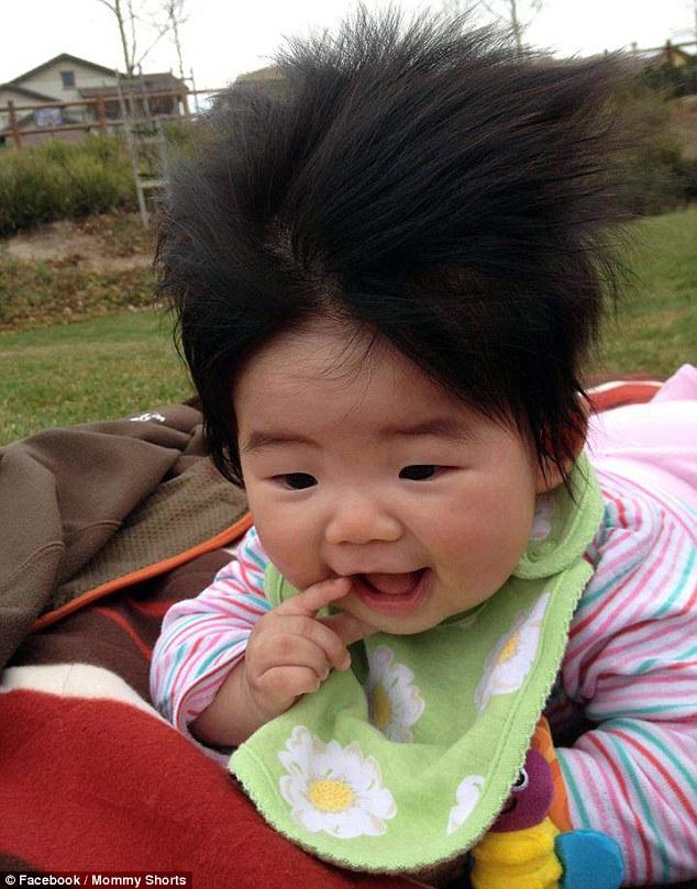 爆笑!子供たちのクレージーなヘアスタイル 中国網 日本語