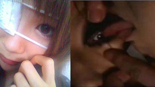 舐める 眼球