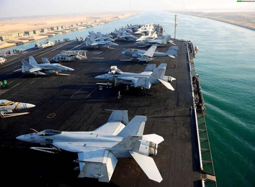 米海軍の膨大な空母艦隊、スエズ運河を通過コメントコメント数:0最新コメント一覧同コラムの最新記事コラム一覧