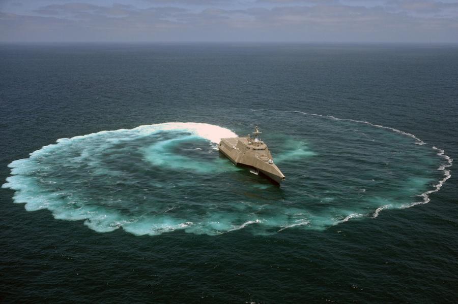 【軍事】 米海軍の最新鋭艦・・・時速70キロ超・浅い海域でも行動