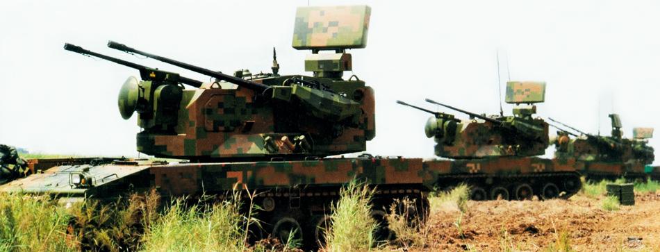 中国第4世代自走式対空砲を正式...