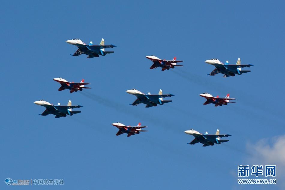 6日間に渡り開催される第11回モスクワ国際航空宇宙展が27日、モスクワ... モスクワ国際航空宇