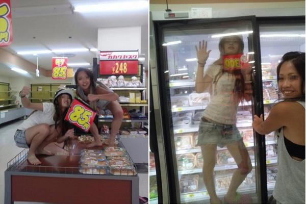 日本で若いアルバイト店員の「悪ふざけ」写真投稿が相次ぐコメントコメント数:0最新コメント一覧同コラムの最新記事コラム一覧