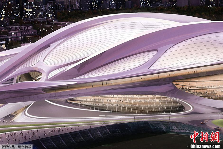 2020年東京五輪の新国家体育場の完成予想図が公開コメント