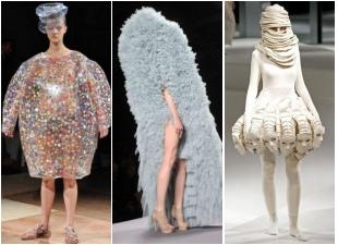 これもファッション?非常に不思議な作品