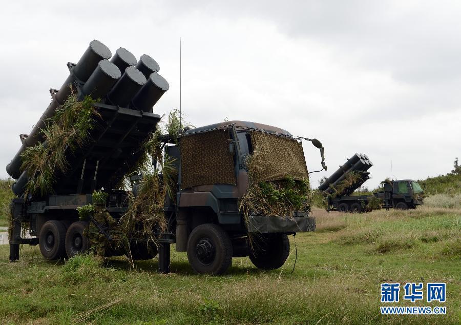 日本陸自、沖縄で地対艦ミサイル...