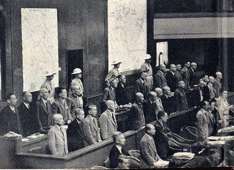 1948.11.4:極東国際軍事裁判で日本侵略戦争罪の宣告