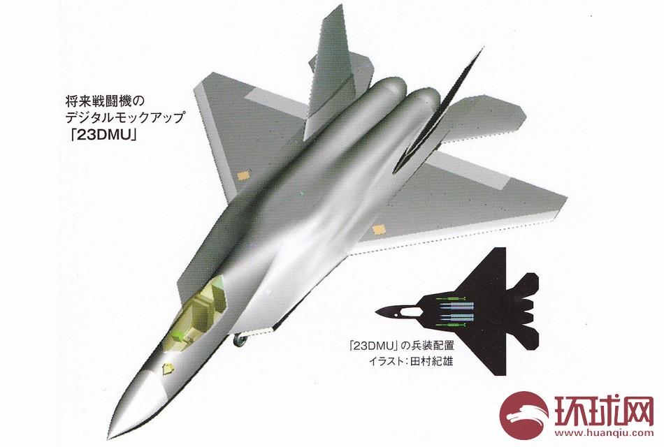 日本の将来戦闘機像 中米ロ戦闘...