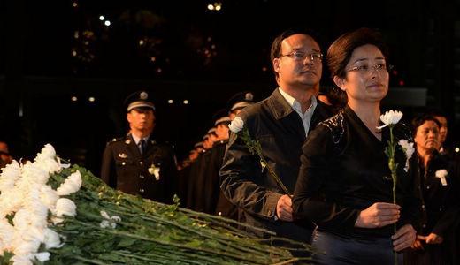 昆明市「3・01」テロ事件の犠牲者追悼儀式