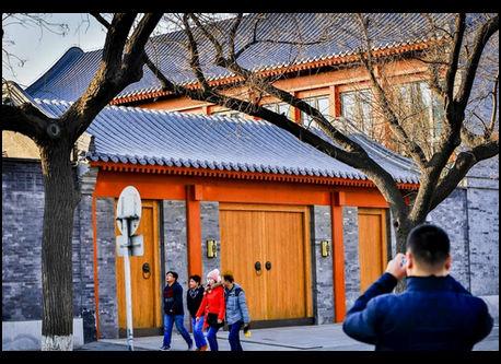 ウェンディ・デン氏の1億元の北京の四合院が公開