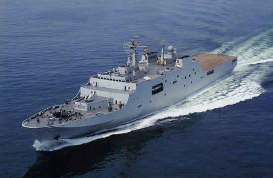 中国の軍艦2隻がマレーシア航空機捜索に参加