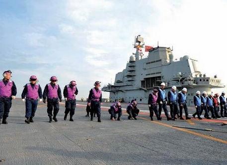 遼寧艦の乗員の生活 女子寮の写真が公開