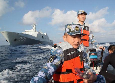 「マレーシア不明機」 中国艦艇8隻が2万3282平方キロを捜索