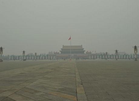 汚染に宣戦布告、煙霧に断固立ち向かう