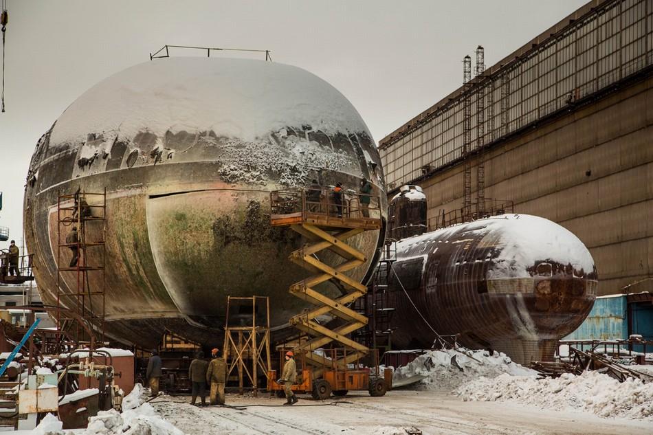 ロシアの原子力潜水艦が出火_中国網_日本語