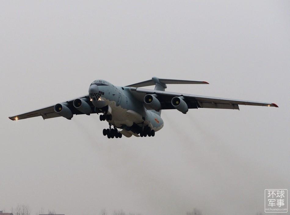 中国赴澳军机开始搜救失联客机