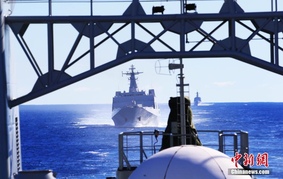 中国海軍の捜索隊、26日にインド洋南部に到着