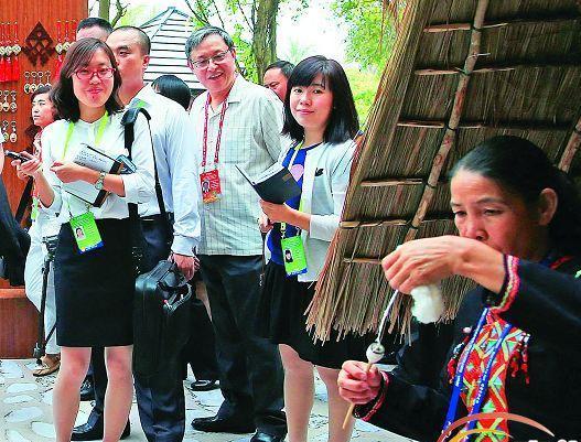 ボアオ?アジアフォーラム期間中、海南の無形文化遺産25点が展示